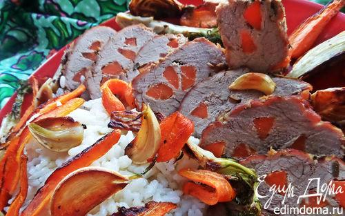 Рецепт Свинина с морковкой к рису
