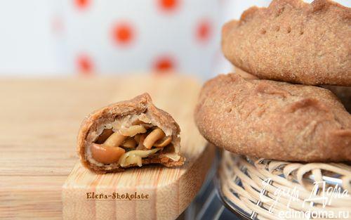 Рецепт Постные пирожки с маринованными опятами