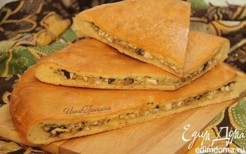 Рецепт Зокоджин - осетинский грибной пирог