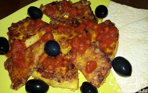 Рецепт Жареная тыква с томатным соусом Napoletana