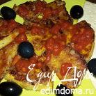 Жареная тыква с томатным соусом Napoletana