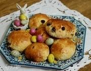 Пасхальные булочки с творогом