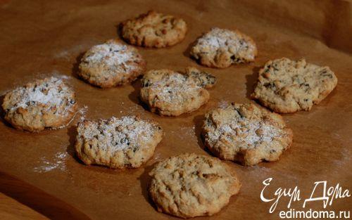Рецепт Печенье с черносливом, грецкими орехами и корицей