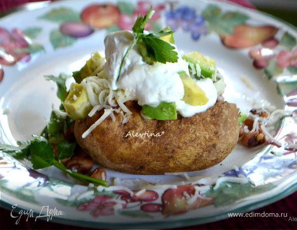 Картофель чили с пряной начинкой