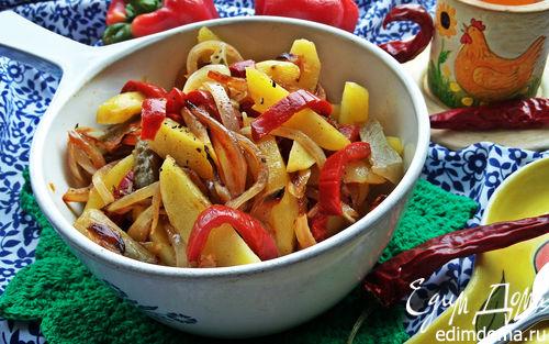 Рецепт Постный картофельный салат