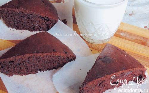 Рецепт Простейший шоколадный пирог на сметане
