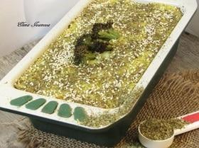Запеканка из картофеля и цветной капусты с прованскими травами и кунжутом