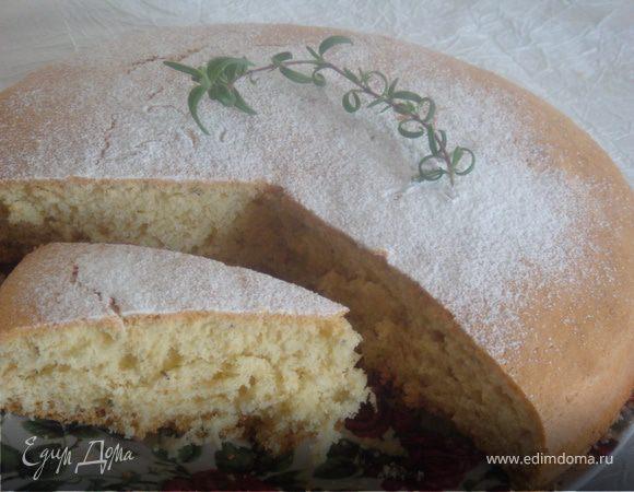 Розмариновый кекс