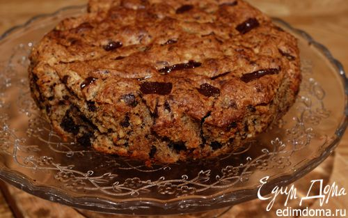 Рецепт Шоколадно-миндальный пирог