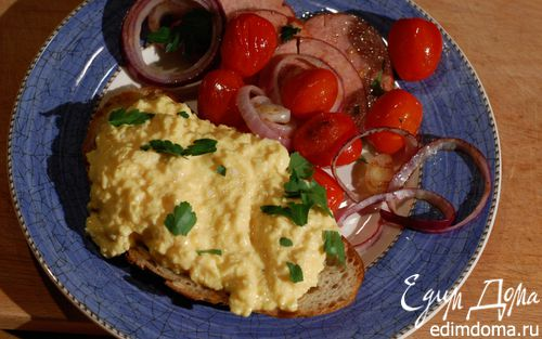 Рецепт Завтрак «Ла-Манш»