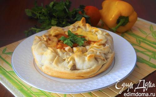 Рецепт Киш с курицей из теста фило