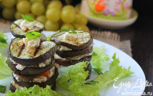 Рецепт Мильфей из овощей и сыра