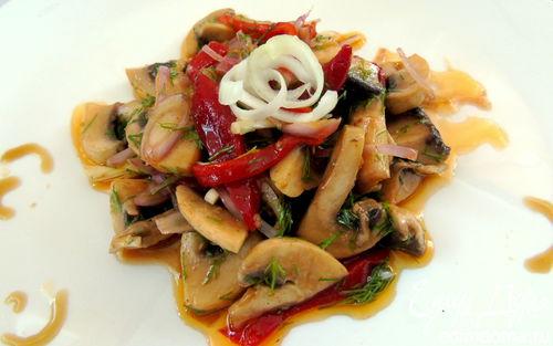 Рецепт Грибной салат в маринаде