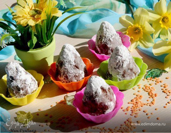 Полезные конфеты из чечевицы