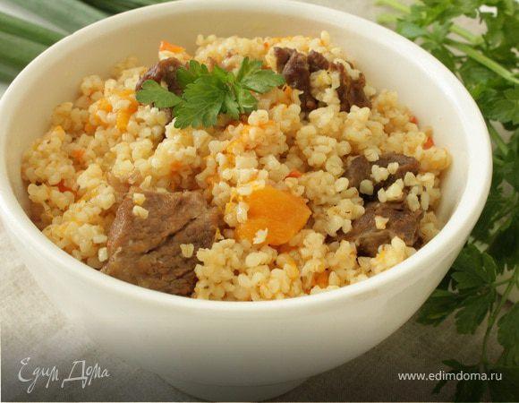 каша пшеничная с мясом рецепты