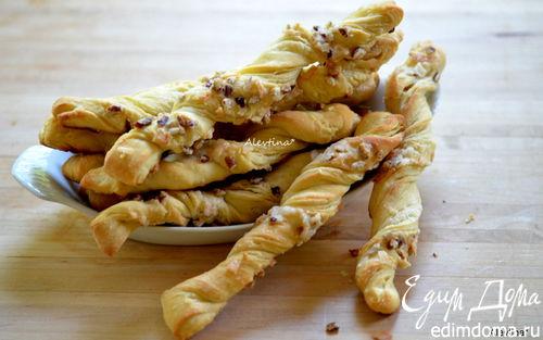 Рецепт Масляные ореховые палочки