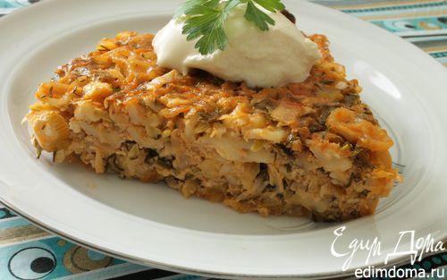 Рецепт Запеканка с капустой и кабачками