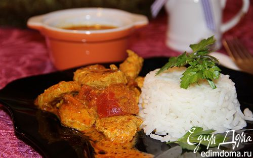 Рецепт Курица в соусе тикка масала