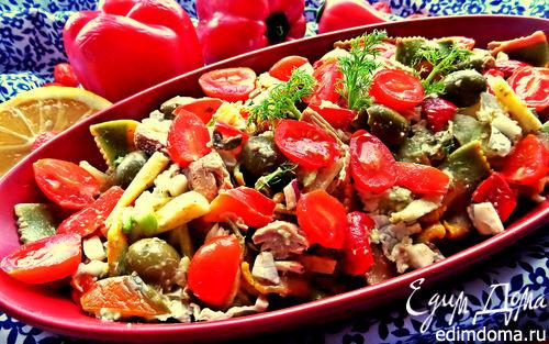 Рецепт Салат с итальянскими мотивами