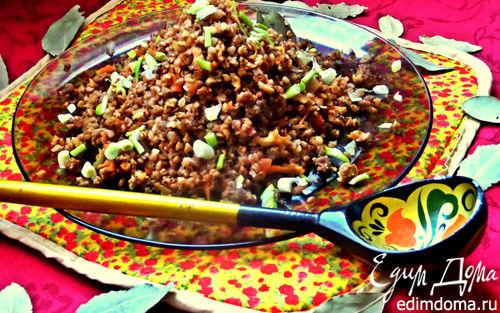 Рецепт Гречка с мясом и корнеплодами