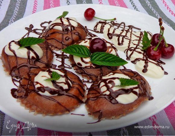 Шоколадные равиоли