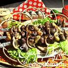 Шашлык из печёнки с луком и фенхелем