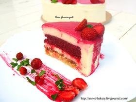 """Торт """"Клубника и базилик"""""""