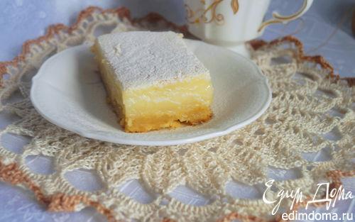 Рецепт Пирог с лимонным кремом