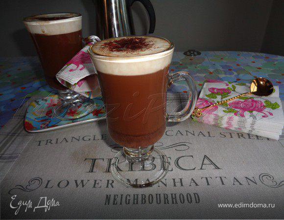 Кофе Мокко с горьким шоколадом (Café Mocha)
