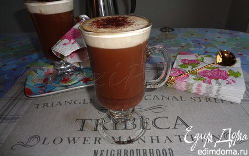 Рецепт Кофе Мокко с горьким шоколадом (Café Mocha)