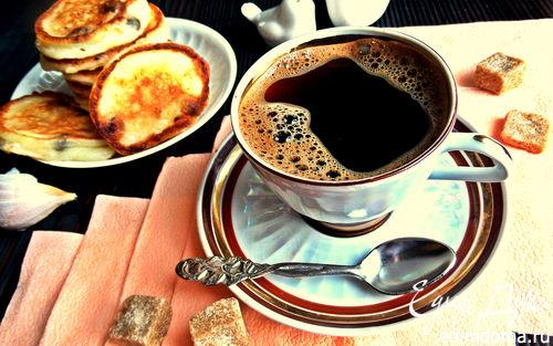 Рецепт Пикантный кофе с чесноком