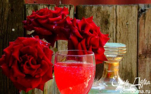 Рецепт Вино из лепестков роз