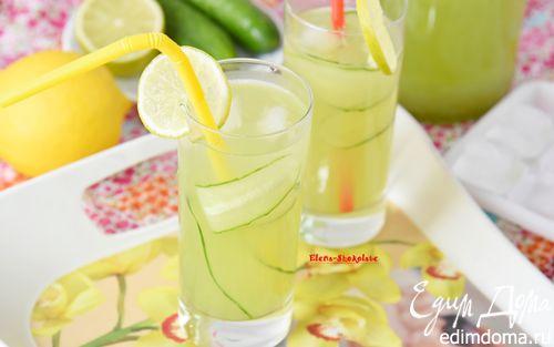 Рецепт Огуречный лимонад