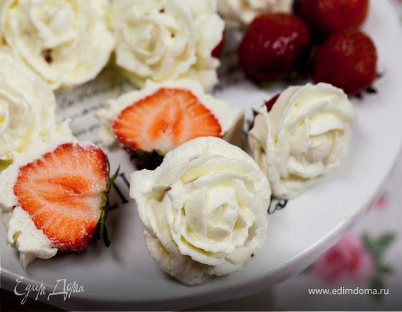 Клубничные розы