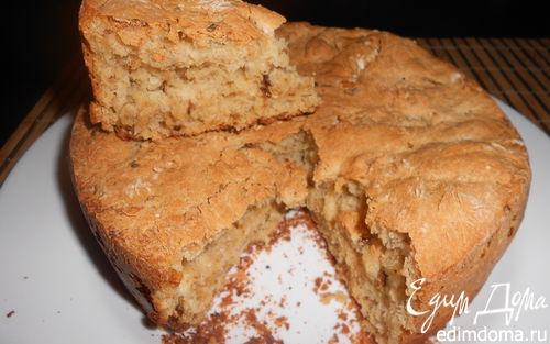 Рецепт Хлеб с сушеными помидорами, тмином и тимьяном