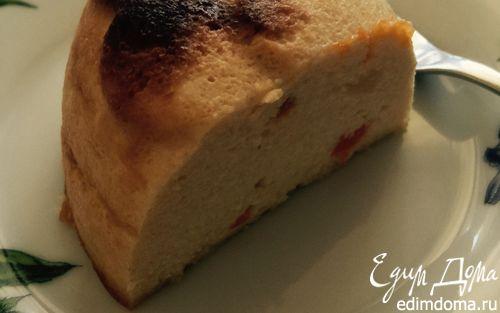 Рецепт Ванильная запеканка с персиком