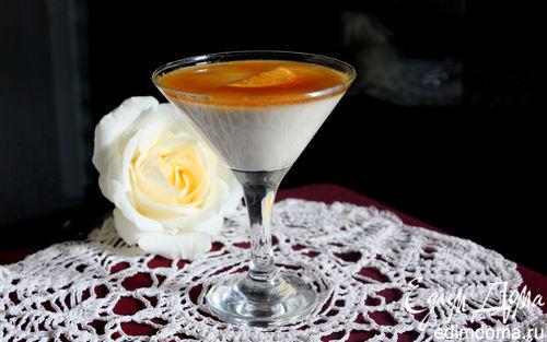Рецепт Ванильно-апельсиновая панна котта