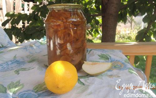 """Рецепт Варенье из груш с лимоном """"Солнечная красавица"""""""