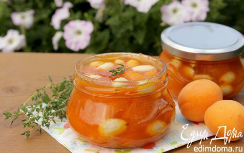 Рецепт Абрикосовое варенье с миндалём и тимьяном