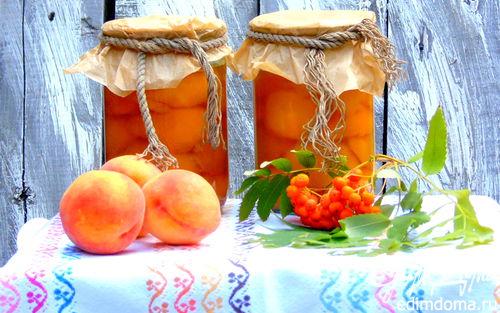 Рецепт Персики в собственном соку