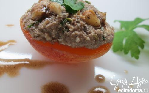 Рецепт Мусс из тунца в абрикосах