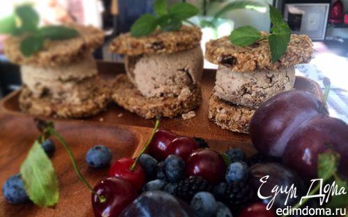 Рецепт Имбирные сэндвичи с кокосово-чайным мороженным