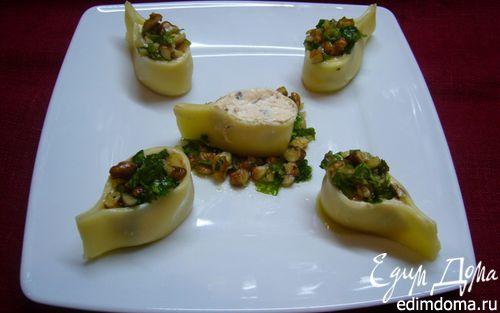 Рецепт Закуска «Сырные «капельки» из двух видов сыра