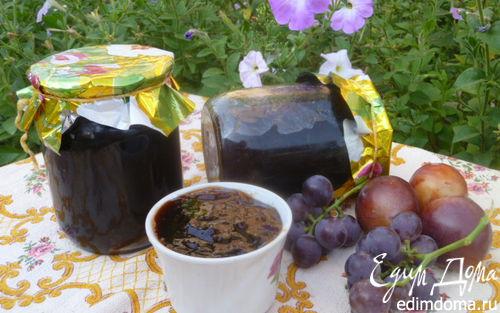Рецепт Виноградно-сливовый джем