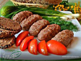 Чевапчичи, черногорские мясные колбаски