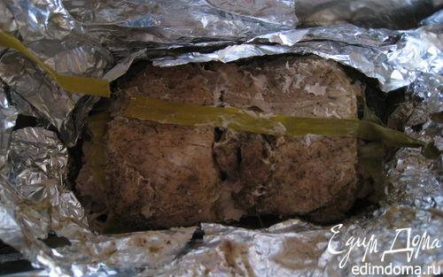 Рецепт Печеное мясо в аджике