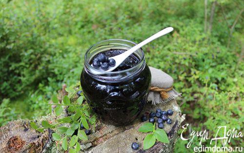 Рецепт Черничный джем с черной смородиной
