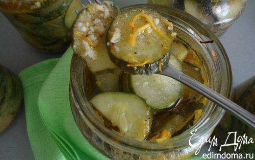 Рецепт Огурцы маринованные с горчицей