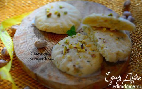 Рецепт Лимонно-мятное печенье с помадкой