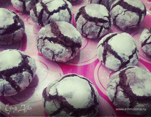 Шоколадные пряники с мятой